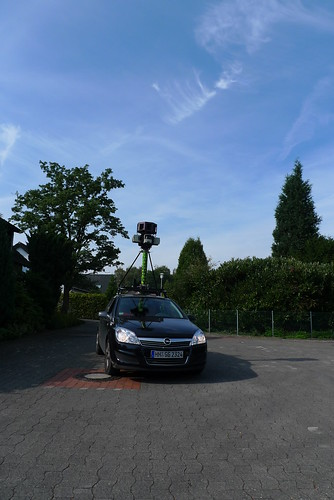 Google Streetview Car in Germany