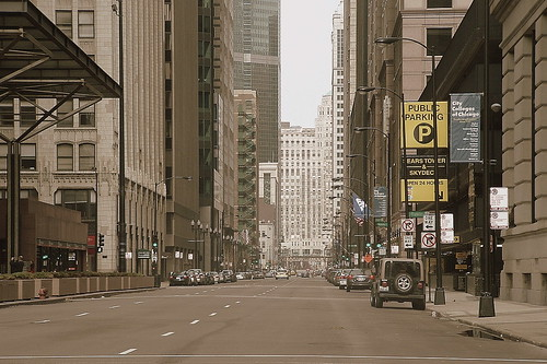 Chicago - Franklin Avenue View