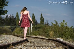 Walking (sirixception) Tags: people woman me train dress belgium belgique transport belgi rail railway soe ik vrouw trein spoor belgien mensen musictomyeyes landen kleed blueribbonwinner vlaamsbrabant i 25faves mywinners mywinner abigfave globalvillage2 lunarvillage citrit focuslegacy exploreunexplored sirixception favesextreme10 favesextreme15 favesextreme20 favesextreme5 womenexpression cvozelfportret