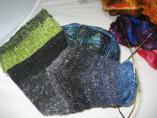 Silk Garden Sock #2,427