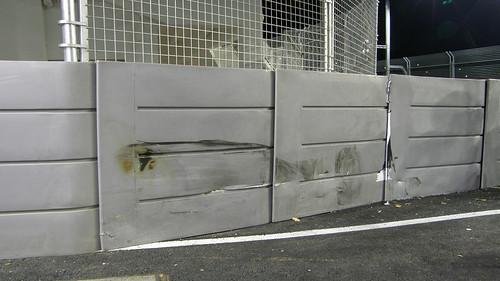 43.Adrian Sutil事故現場