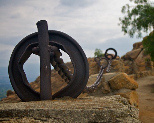 Chain, Mount Rubidoux, Riverside, CA