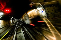 movin' to (Angelo M) Tags: speed subway torino lights moving metro turin bernini metropolitana movin fulmini velocita muoversi saette scheggedigranapadano rigurgitimaschili