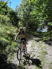 DSCN0611 (Hannibal Cycle tours / Belvedere B&B) Tags: italy holiday cycling italia mountainbike crosscountry fenestrelle valchisonemountainbike colledellefinestra alpinebiking