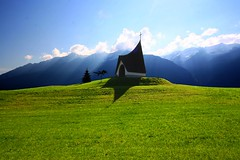 Simplicity in a complicated world (Giuseppe Bognanni) Tags: world mountains green church field landscape austria tirol sterreich simplicity complicated superaplus aplusphoto
