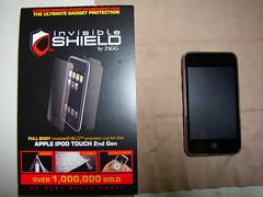 InvisibleShield 隱形神盾保護膜 for iPod touch 2G
