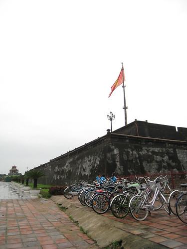 The flag tower at the citadel of Hue