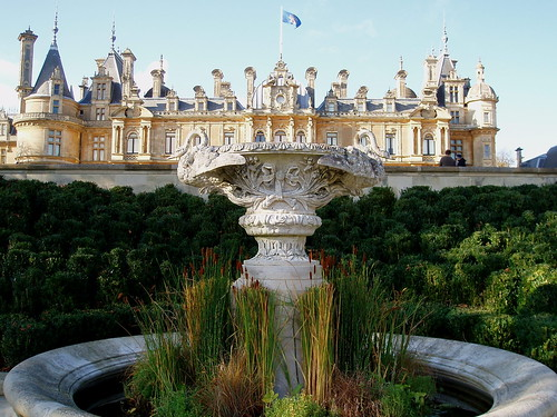 Waddesdon Manor below the Parterre