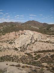 Vasquez Rocks (rahrahrah) Tags: startrek outdoors landscapes rocks desert movies santaclarita aguadulce vasquezrocks