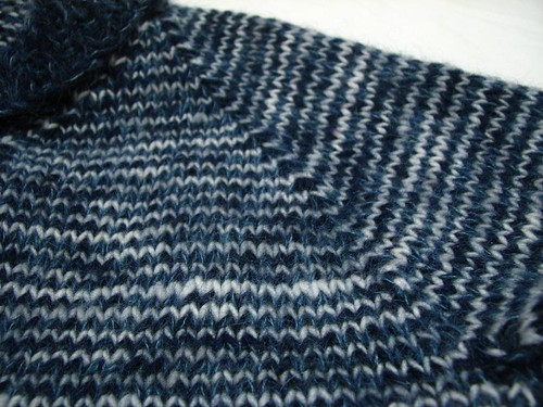 Treeline Cardigan - Shoulder Detail