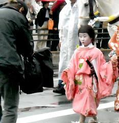 Yoshitsune (fuyou-hime) Tags: kyoto child kimono matsuri kitsuke yoshitsune heian jidai yoritomo minamoto