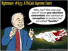 Nightmare #673: A McCain Supreme Court