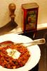 Chili con Carne (Soupflower's Blog) Tags: recipe pepper 50mm nikon chili cayenne homemade carne coriander cumin paprika sourcream pfeffer selbstgemacht knoblauch groundbeef bayleaf gewürz kreuzkümmel zwiebeln bohnen chiliconcarne kümmel hackfleisch rezept koriander lorbeerblatt d80 flowersoup faschiertes soupflowers sauerrahm carawayseed spflwrs
