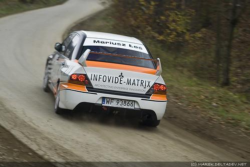 Mariusz Łoś - Mitsubishi Lancer Evo