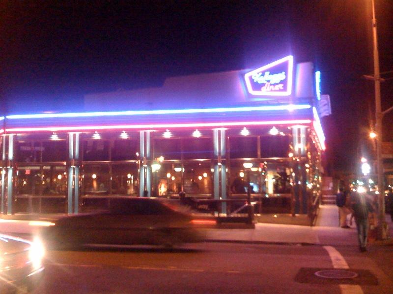 Kellogg's Diner: Exterior Shot