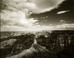 Summer sky grand canyon # 1 (Komkrit.) Tags: red summer sky project tmax large grand canyon filter 4x5 format 100 90mm kb canham thusanapanont komkrit