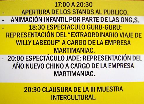 III Muestra Intercultural