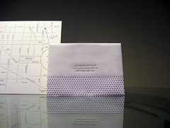 Jina Dots Letterpress Wedding Invitations - Reply Envelope