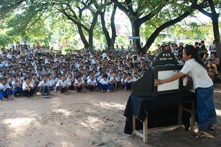Storytelling at Taing Krosaing P.S