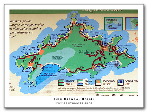 excursiones a pie en Ilha Grande