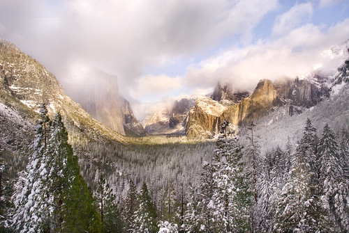 Winter Afternoon in Yosemite