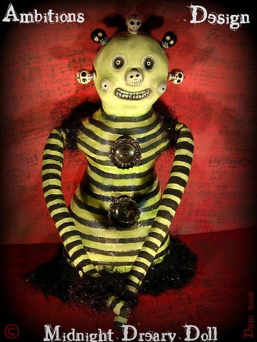 """Midnight"" Dreary Doll for STJ"