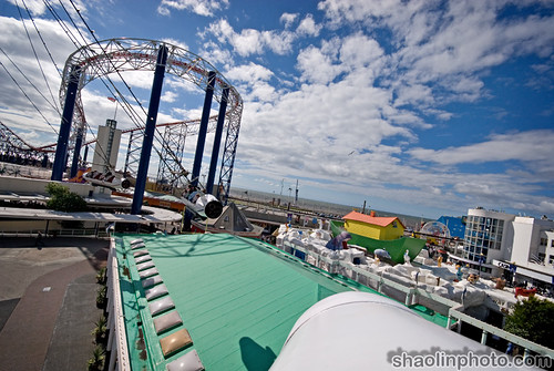 Sir Hiram Maxim's Captive Flying Machine - Blackpool