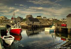 Peggy's Cove, Nova Scotia (Rob Huntley Photography - Ottawa, Ontario, Canada) Tags: boats novascotia harbour cove fishingboats peggyscove fishingboat hdr highdynamicrange atlanticcanada huntley traditionalwoodenboats robhuntley 419977771mhxhq robhuntleyphotography