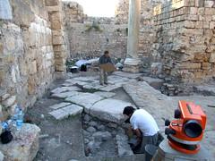 Fouilles de Tyr (Liban)-Mission de P-L. Gatier, 2008