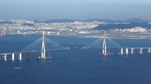 Almost finished Incheon Bridge