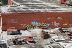FLEX (Billy Danze.) Tags: chicago abandoned graffiti factory candy 23 flex gee speak gravel kym tbc brachs geesus