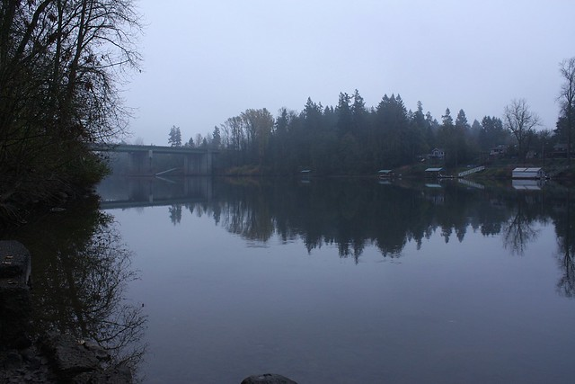 Boone Bridge, Willamette River