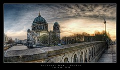 Berliner Dom, Berlin (d.r.i.p.) Tags: bridge panorama berlin architecture germany deutschland nikon widescreen drip architektur brcke mitte 180 hdr hdri berlinerdom 18mm photomatix d80 hdrpanorama berlinhdr vertorama reflectyourworld