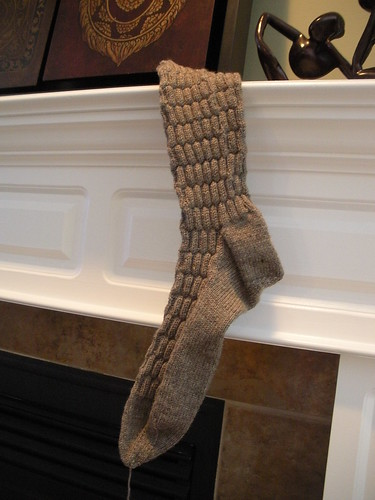 fancy sock fireplace