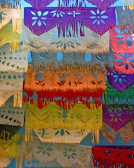 Papel Picado (Emma Paperclip) Tags: cb brightlycolored papelpicado mexicanpaperpartyflags mexicanfiestaflags