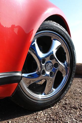 California Dreaming Mag Feature Pics - Chrome Porsche Wheel