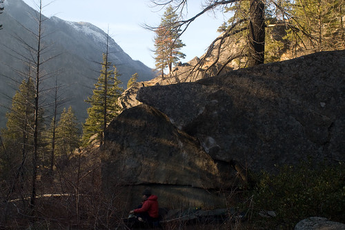 two late fall bouldering trips