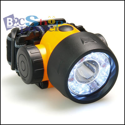 14 Led 1color Headlamp Flashlight Torch Lamp Light