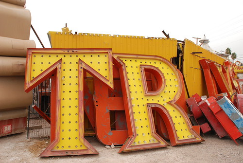Neon Sign Boneyard Las Vegas