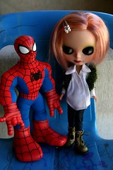 Olive and Spider Man