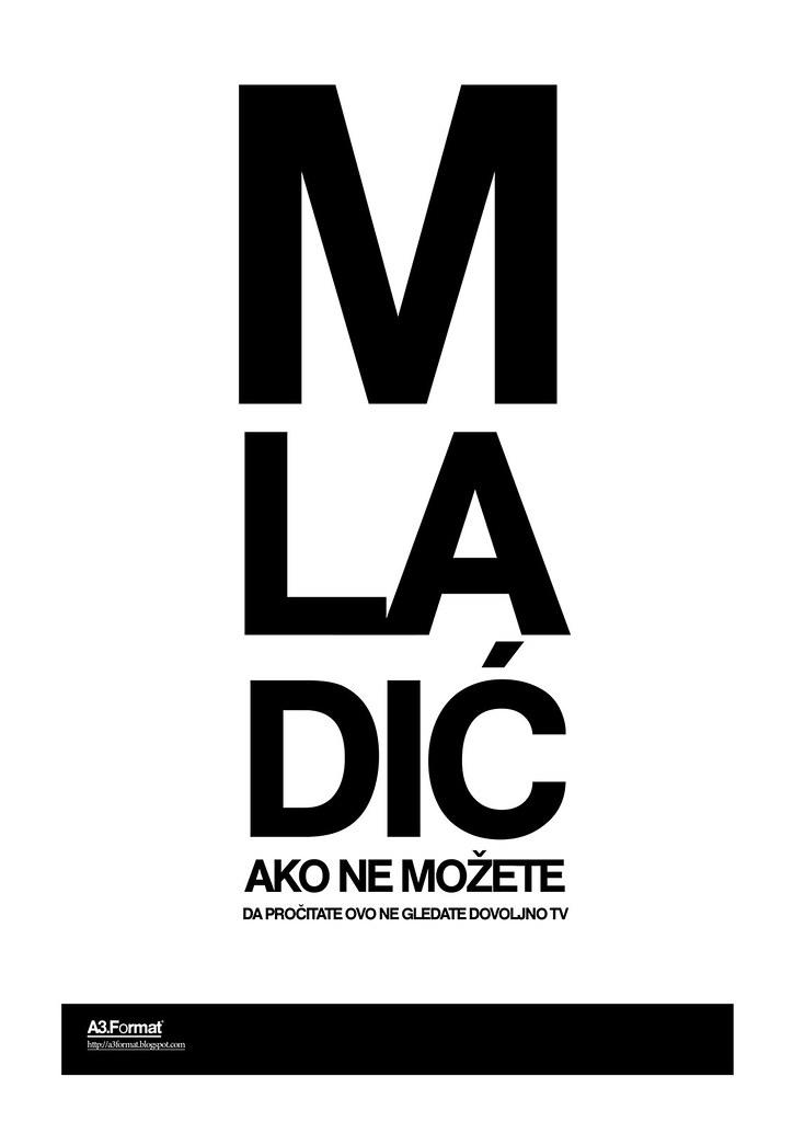Mladić by: Filip Bojović - RS