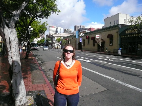 Jessica in downtown San Diego