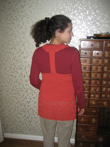 Lotus Tunic Back