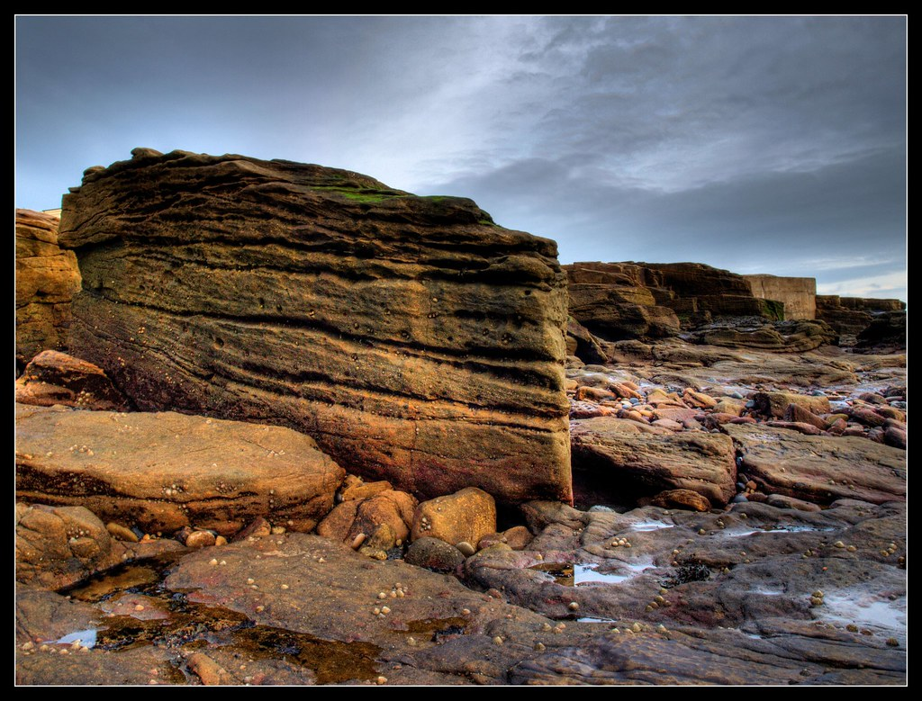 Rock Formation - Newbiggin-By-The-Sea