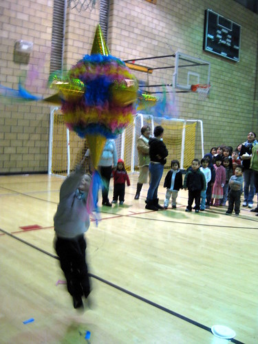 "The kid is hitting the ""Piñata"""