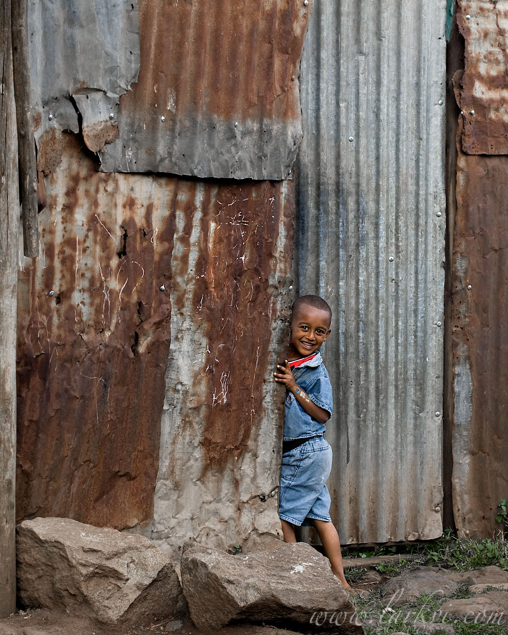 Child in Doorway, Addis Ababa, Ethiopia, November 2008