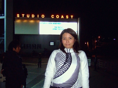 Tamami in Studio Coast in Tokyo for The music