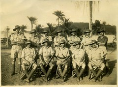 Sierra Leone c 1944.  British army detachment.