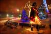 Winter Wonderland (amamak photography!) Tags: christmas winter snow me lights magical winterwonderland aviva happyholidayseveryone explored explorefrontpage thanksmichelle exploretopten merrychristmasflickr artzyviva iwasseriouslyfreezingmybuttoff butobviouslyitwasworthit