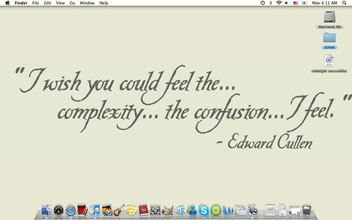 wallpaper quote. Edward Cullen Quote Wallpaper